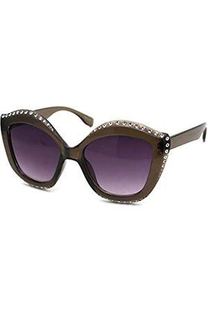 SA106 Kindergröße Mädchen Bling Gravur Dicke Kunststoff Schmetterling Sonnenbrille
