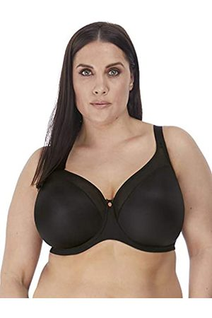 Elomi Women's Plus Size Smooth Underwire Molded Bra, Black
