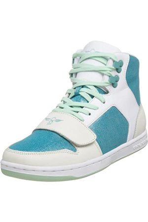 Creative Recreation Cesario Damen-Sneaker mit hohem Schaft, Elfenbein (Metallische Leinwand)