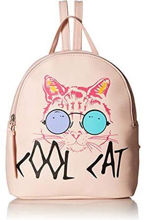 T-Shirt & Jeans Cool Cat Rucksack in, Pink (blush)