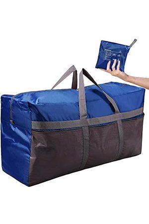 CAMPMOON Extra große Reisetasche für Herren, 76L/96L, Oxford, faltbar, leicht, für Reisen, Camping