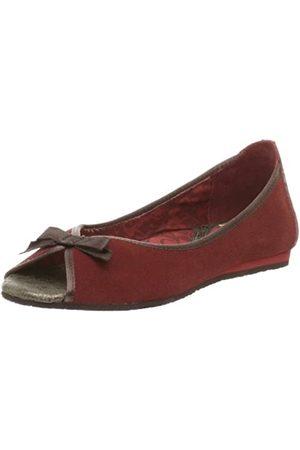 Cobian Damen Audrey Peep Toe Flat