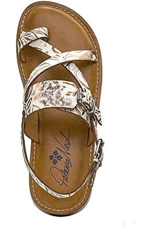 Patricia Nash Damen Shoes Collection Fidella Sandalen, Gr., Wei� (natürliches )