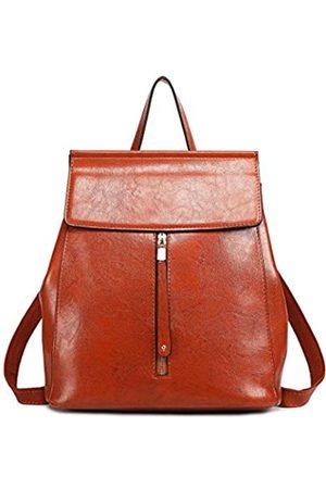 MISS LULÙ Schulrucksack E6833 Faschion Mädchen Kunstleder Rucksack Citytasche Backpack Daypack Damen
