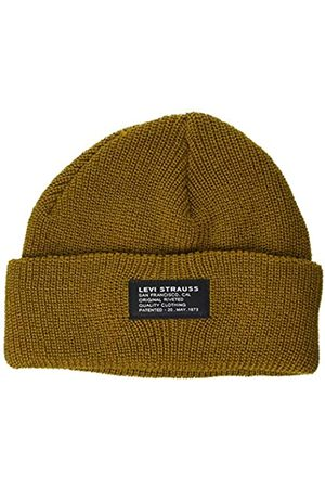 Levi's Unisex Cropped Beanie-NO Horse Pull Patch Ohrenschtzer