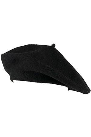 Hat To Socks Einfarbige Baskenmütze aus Wollgemisch für Damen und Herren
