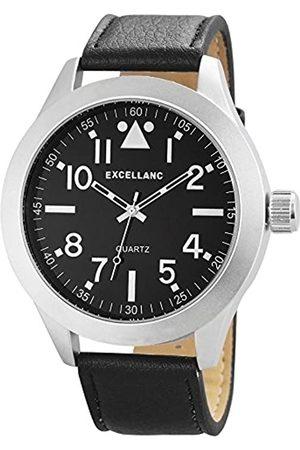 Excellanc Herren-Armbanduhr XL Analog Quarz Verschiedene Materialien 295021000171