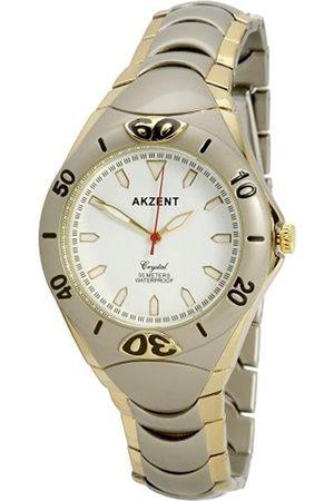 Akzent Herren-Uhren mit Metallband SS7612000008