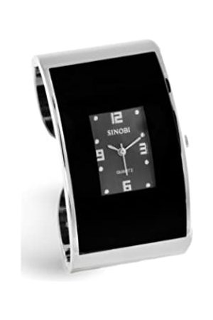 Sinobi Damen-Armbanduhr 1011632 XS Analog Quarz Edelstahl beschichtet 983/N