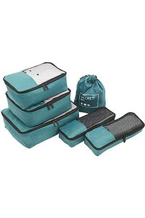 TPRC 6-teiliges Packwürfel-Reisebegleiter-Set