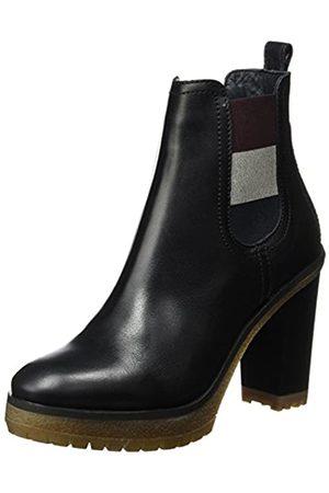 Tommy Hilfiger Damen C1385LEO 13A Chelsea Boots, (Black)