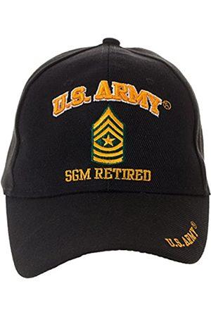 Artisan Owl Offiziell lizenzierte US Army Retired Baseball Cap - mehrere Ranken erhältlich! - Schwarz - Einheitsgröße