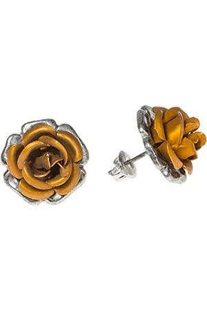 Schnabel Damen-Ohrstecker Rosenschmuck - Rose 100 gold 16mm