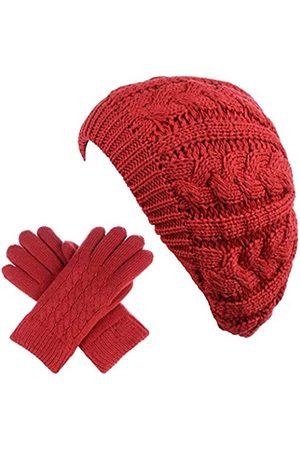 Be Your Own Style BYOS Damen Wintermütze mit Fleece-Futter