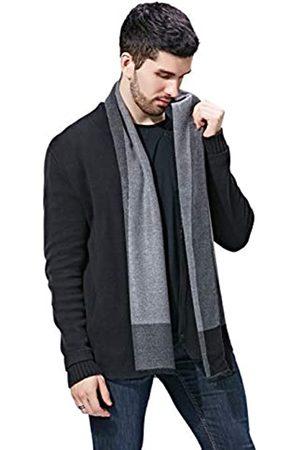 FULLRON Herren Winter Kaschmir Schal Weich Warm Lange Schals - - Large