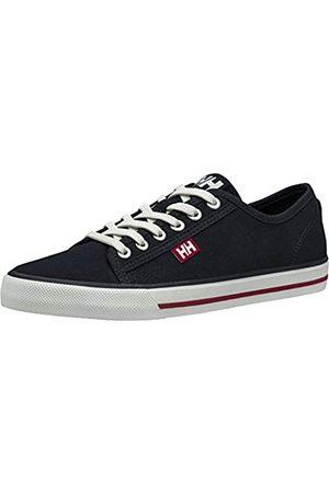 Helly Hansen Damen W Fjord Canvas V2 11466_011 Sneaker, Navy/Red/Off White