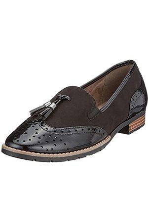 Soft Line Damen 24260 Slipper, (black)