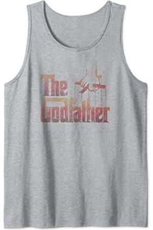 Paramount The Godfather Original Distressed Title Logo Tank Top