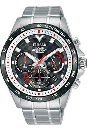 Pulsar Herren Analog Quarz Uhr mit Metall Armband PZ5111X1