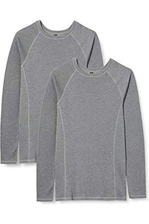 IRIS & LILLY Amazon-Marke: Damen langarm Thermo-Oberteil, 2er Pack, XS