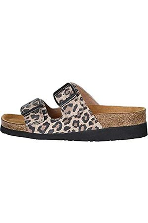 Naot Footwear Women's Santa Barbara Sandal Cheetah Suede 11 M US