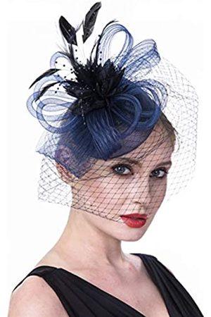 Feima Fascinator-Hut für Frauen und Mädchen, Cocktail-Tee-Party, Kopfschmuck, Kentucky Derby