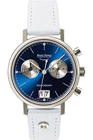 Soehnle Bruno Söhnle Damen Chronograph Quarz Uhr mit Leder Armband 17-13172-391