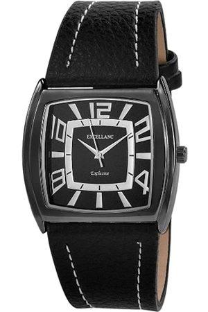 Excellanc Herren-Uhren mit Polyurethan Lederband 293071000101