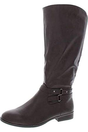 Style & Co Kindell Damen Reitstiefel, kniehoch, mandelfarben, (schokoladenbraun)