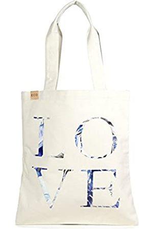 Me Plus Einkaufstasche aus Öko-Baumwolle, stilvoll, bedruckt, modisch