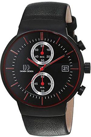 Danish Design Herren-Armbanduhr Analog Quarz Leder 3316343