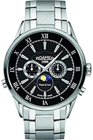 Roamer Herren-Armbanduhr Superior Moonphase Chronograph Quarz 508821 41 53 50