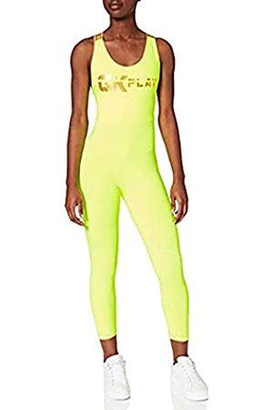 Gianni Kavanagh Neon Yellow Gk Play Jumpsuit für Damen, GKW001744