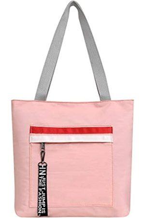 GEFUNG On The Go Tote Bags Schultertasche Wasserdicht Handtasche Leichte Casual Geldbörse für Frauen Alltag Einkaufen Arbeit ( -RW)