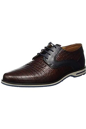 Lloyd Herren Delano Uniform-Schuh, Marrone/Pacific/Bordo