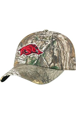 Top of the World Arkansas Razorbacks Men's Camo Hat Icon, Real Tree Camo