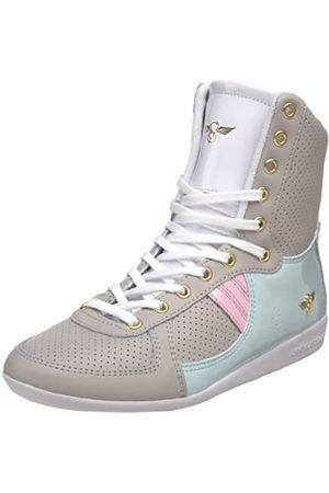 Creative Recreation Damen Galow Hi Fashion Sneaker, Grau (Vapor/Skylight/Pink/Mist)