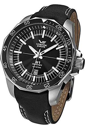 Vostok NH25/2255146 Armbanduhr Lederarmband