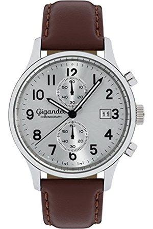 Gigandet Herren Chronograph Uhr mit Leder Armband G49-002