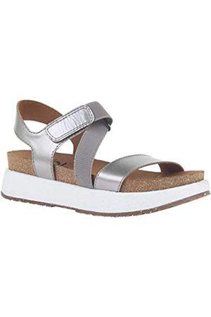 OTBT Sierra Damen-Sandalen mit Keilabsatz, (zinnfarben)
