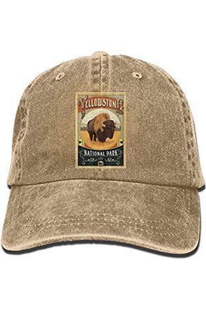 bowlife Yellowstone National Park Unisex Denim Baseball Cap Adjustable Hats