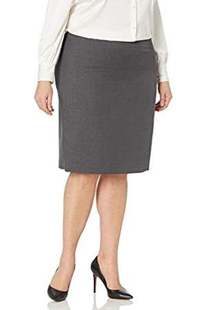 Kasper Damen Crepe Slim Skirt Rock, Business/leger