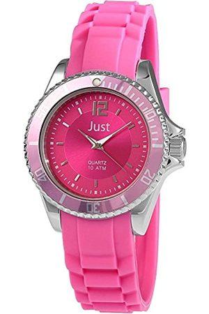 Just Watches Damen-Armbanduhr Analog Quarz Kautschuk 48-S3857-RO