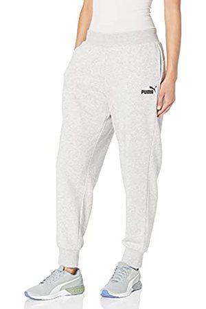 PUMA Damen Essentials Sweatpants Trainingshose, -Light Gray Heather