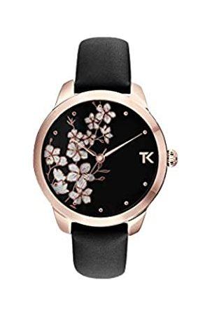 Trendy Kiss Damen Analog Quarz Uhr mit Leder Armband TRG10140-02