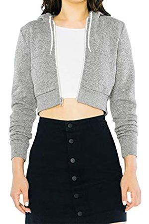 American Apparel Damen Fleece Cropped Long Sleeve Hoodie Kapuzenpullover