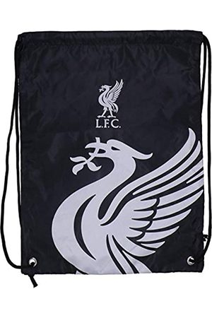 Taylors Football Souvenirs Liverpool FC Drawstring Gym Bag School Swim Sport Black Crest Fan Official