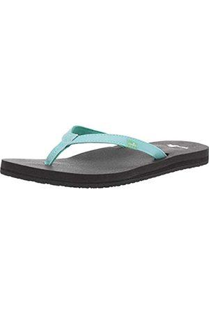 Sanük Damen Schuhe - Damen Yoga Joy Flip-Flop, (Angel Blue)