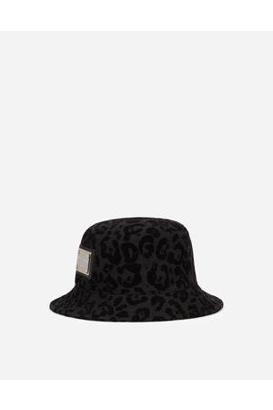 Dolce & Gabbana Fischerhut leo-flockprint male 58