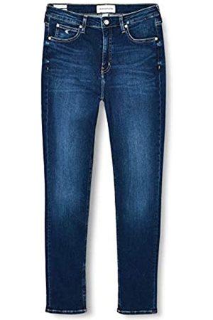 Calvin Klein Damen High Waist Jeans - Damen Ckj 010 High Rise Skinny Hose